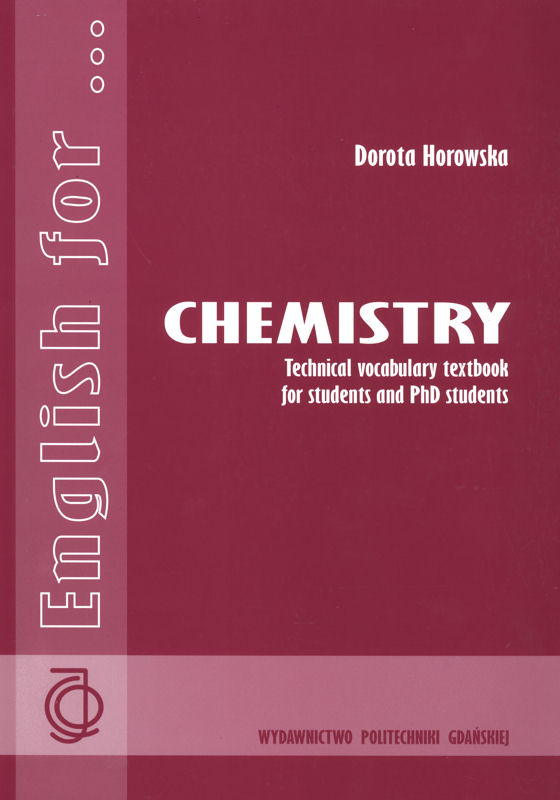 English for Chemistry Technical Vocabulary Textbook for